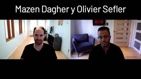 Mazen Dagher y Olivier Sefler
