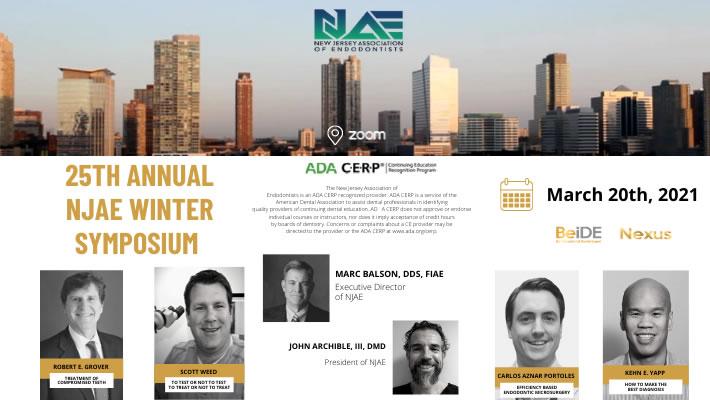 25th Annual NJAE Winter Symposium