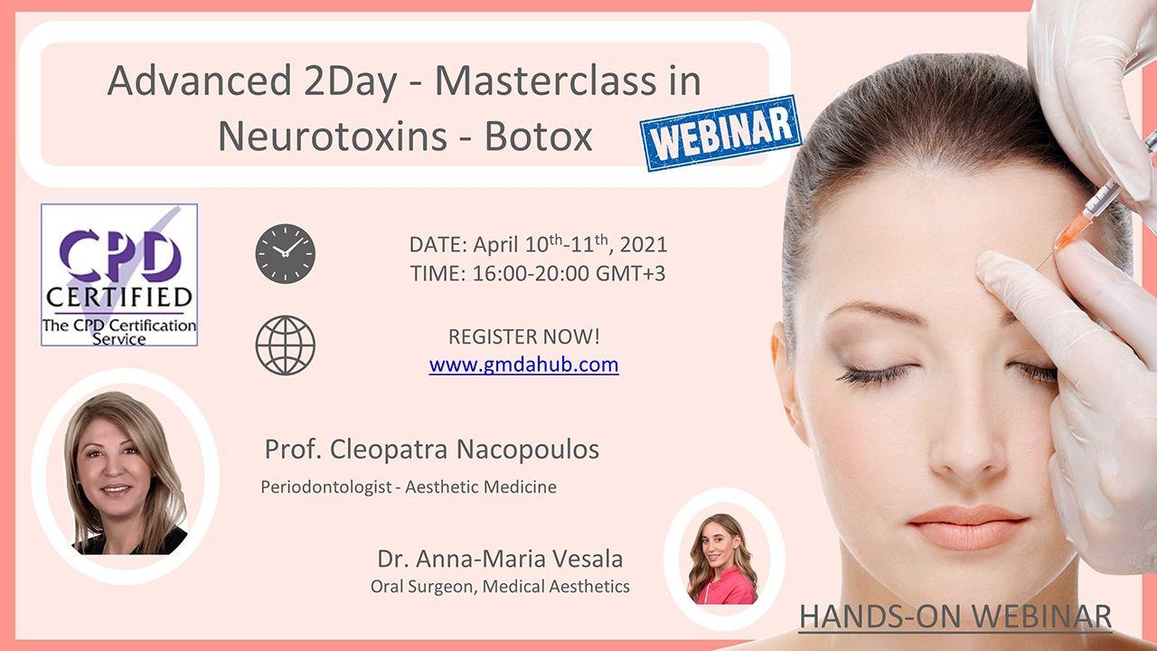Advanced 2Day – Masterclass in Neurotoxins – Botox