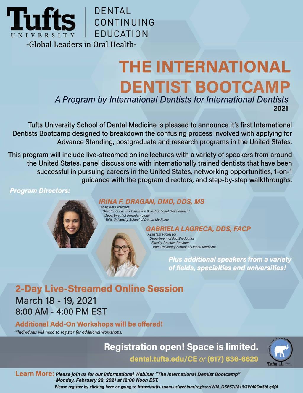 The International Dentist Bootcamp