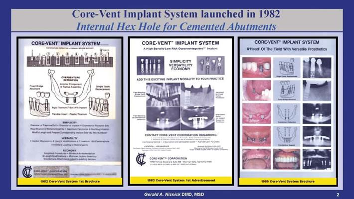 Core-Vent Implant System